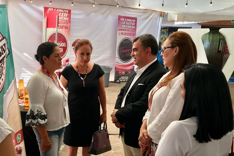 Constantino Ortiz es un hombre sensible a la generación e impulso de las empresas y de empleos que apoyen a las familias morelianas