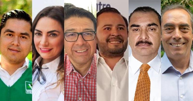 Esas son las cartas que nos han puesto las distintas fuerzas políticas sobre la mesa en el noroeste de Morelia. ¿A quién le ve más posibilidades?