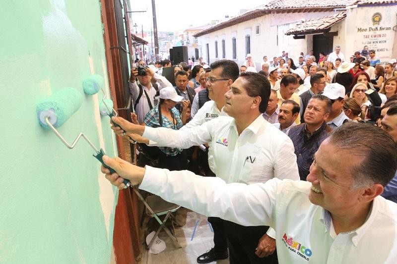 """Aureoles Conejo supervisó la primera etapa de dignificación del Hospital General de Sahuayo """"Dr. Héctor Orozco Zepeda"""""""