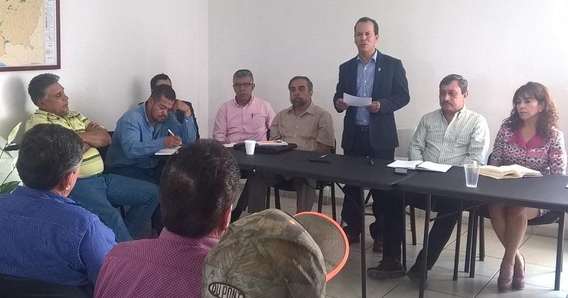 Medina Niño resaltó que el objetivo es evitar siniestros y daños en cultivos, en trabajo coordinado con la delegación de la Sagarpa en Michoacán que dirige Jaime Rodríguez López y la Amur de Cirilo Almazán