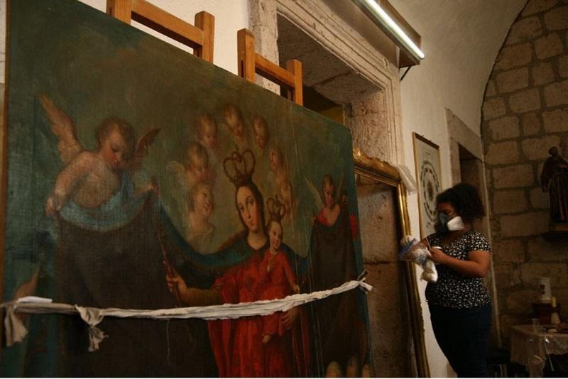 Las obras provendrán de templos como Santa Rosa de Lima, San Agustín, San Francisco, San José, de la Columna, la Merced, y Catedral