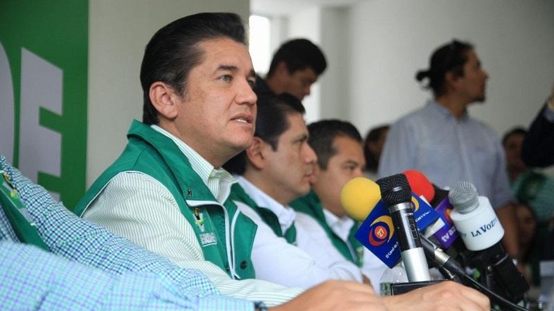 Puente Salas reiteró que los abanderados del PVEM le sumará votos al candidato presidencial, José Antonio Meade