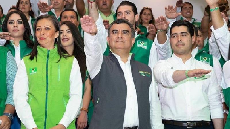 Como argumentó en su momento el líder estatal del PVEM, Constantino Ortiz no participó en ningún proceso interno de ese partido, sino que fue designado de manera directa