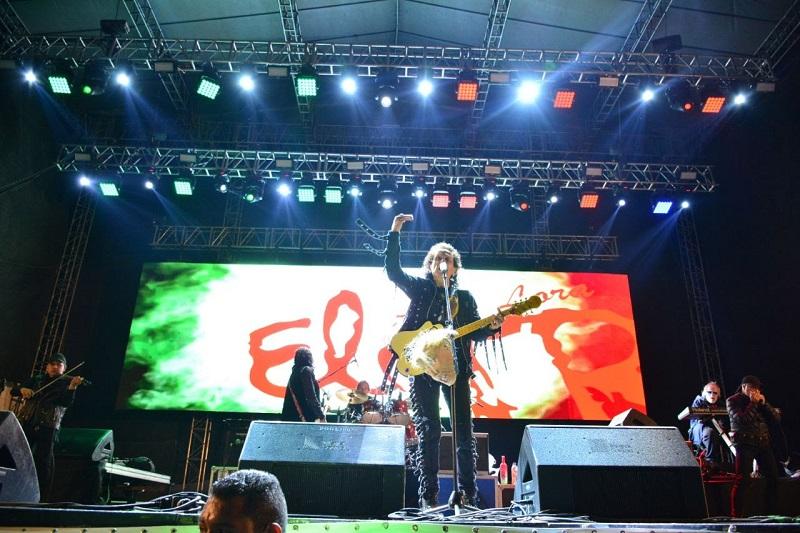 El Rock del TRI cimbró esta noche la Expo Fiesta Michoacán 2018