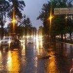Una fuerte lluvia acompaña de granizo y vientos ocasionó que en cuestión de minutos se cubriera la carretera al recinto ferial de blanco, así como Avenida Enrique Ramírez, Camelinas, Acueducto, Madero, Morelos Sur, J.J. Tabloada, en colonias del sur y oriente de la capital del estado