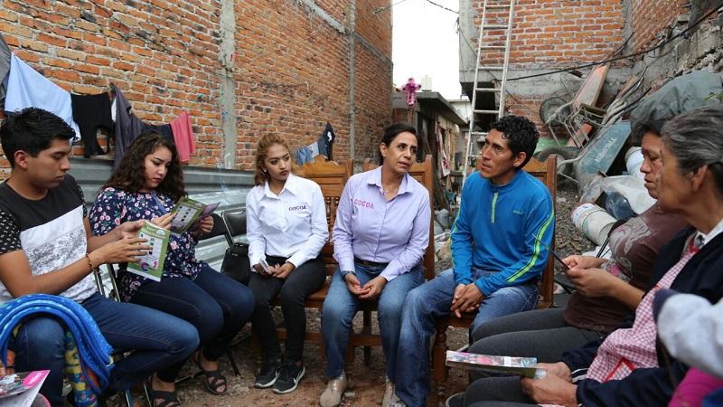 Quiero poner a  disposición mi experiencia, honestidad y trabajo al servicio de todos: Luisa María Calderón