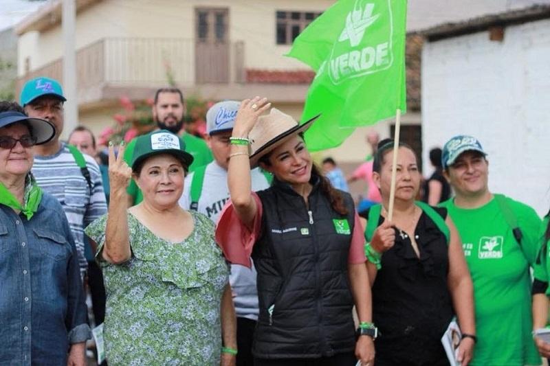 Aguirre Ochoa reiteró que su obligación como aspirante a un cargo de elección popular es escuchar las necesidades de todos los ciudadanos