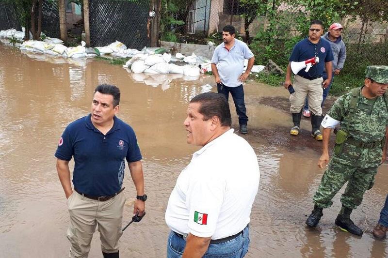 Si bien la temporada de lluvias y huracanes, comienza oficialmente 15 de mayo, las precipitaciones pluviales ya comenzaron a impactar en la entidad