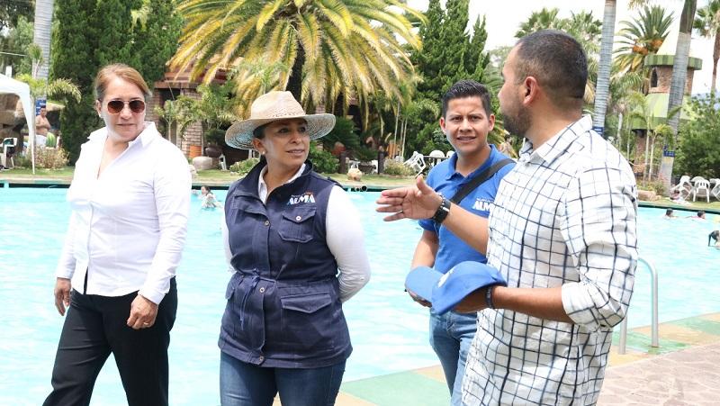 Los balnearios no están contemplados en la Ley de Turismo, pese al detonante económico que representa: Alma Mireya González