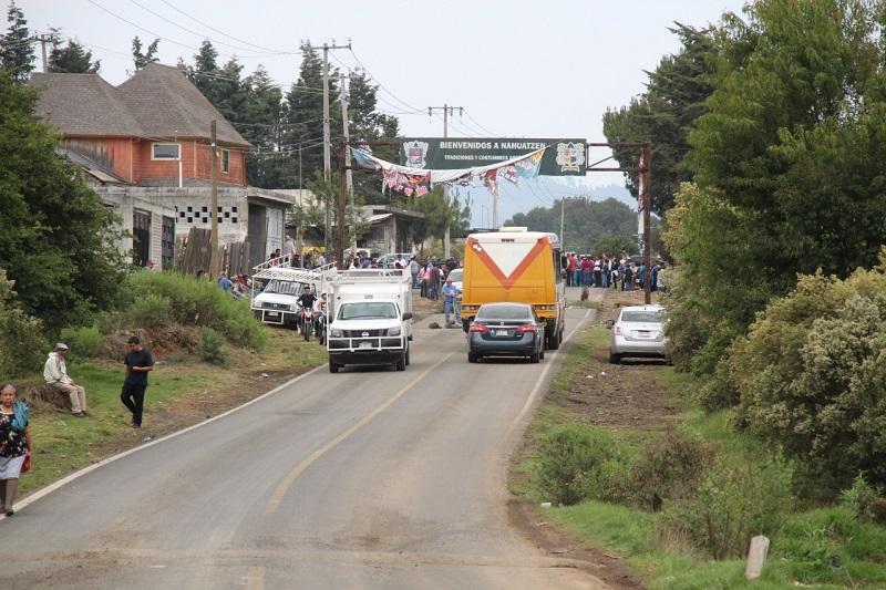 Debido a un bloqueo en los accesos a la comunidad de Nahuatzen, no se pudo llevar a cabo la consulta para definir el manejo de los recursos que se asignarán de manera directa