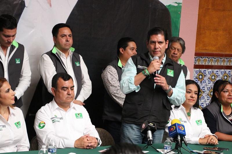 """""""Los 45 días restantes en la parte local vamos a demostrar que los candidatos y candidatas verdes son los más preparados y aptos para encarar las responsabilidades de un puesto de elección popular"""": Núñez Aguilar"""
