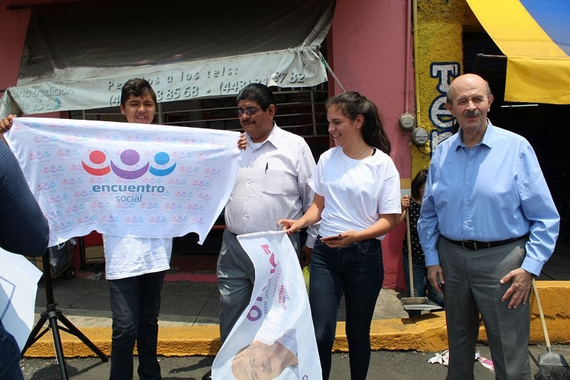Vallejo Figueroa presentó a los morelianos su plataforma de gobierno al frente del Ayuntamiento capitalino