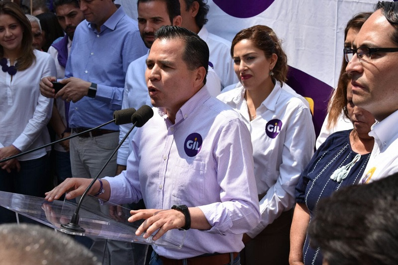 José Luis Gil reiteró que en el Congreso Estatal, urgen diputados que escuchen a la gente y cuyo compromiso verdadero sea dar buenos resultados a la población
