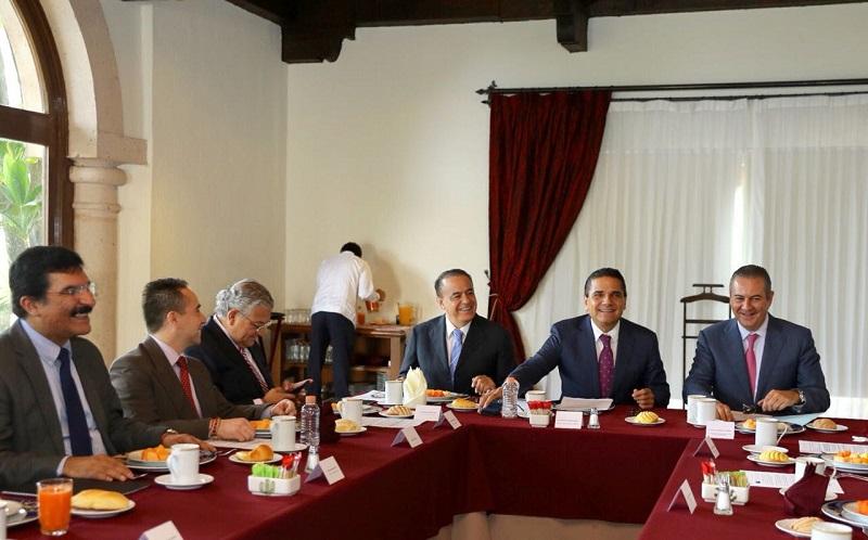 Las empresas michoacanas tendrán cabida en este proyecto, reitera el mandatario