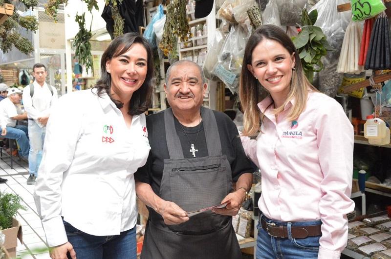 La candidata a Diputada local por el PRI, garantizó que desde el legislativo se establecerá una sinergia de trabajado con el Gobierno que encabezará Daniela de los Santos