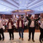 """""""Hoy damos el primer paso para la esperanza de Morelia, hoy comenzamos la transformación de nuestra ciudad, hoy iniciamos con la política honrada"""", señaló Raúl Morón"""