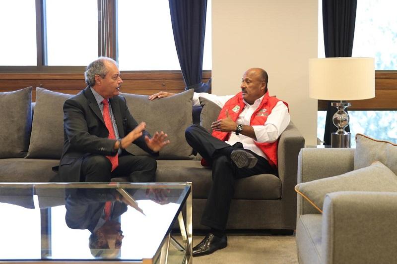 Víctor Silva, destacó que la estrategia de trabajo que se plantó con el dirigente nacional, es continuar con la inclusión de toda la estructura del instituto político