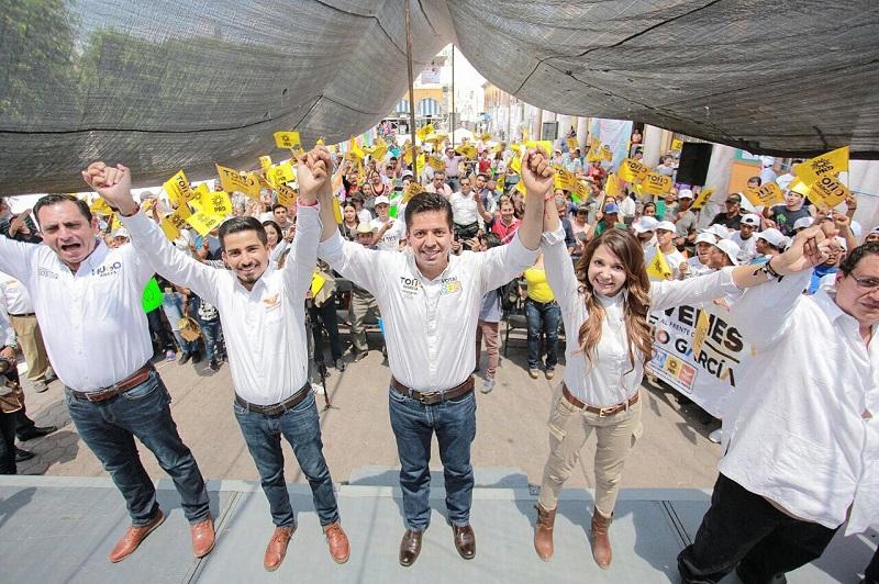 García Conejo se comprometió a trabajar en el despliegue de políticas públicas orientadas a fortalecer la seguridad en el estado, potenciar la generación de empleos, cuidar el medio ambiente y abatir la corrupción