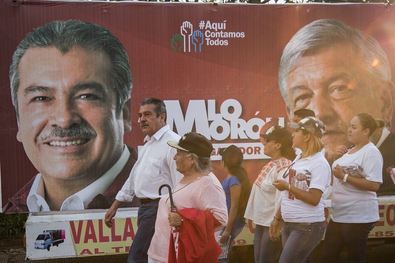 El proyecto de Morena, indicó Raúl Morón, está abierto a todas las expresiones