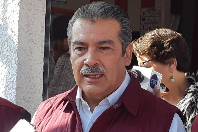 Para Raúl Morón, el único que tiene un crecimiento consistente es Andrés Manuel López Obrador (FOTO: SEBASTIÁN CASIMIRO)