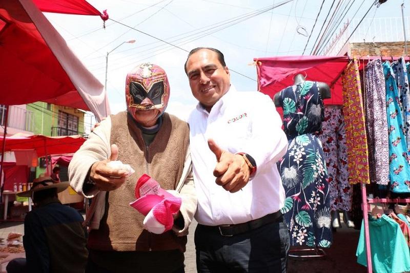 Color Gasca asumió el compromiso de promover desde la Cámara de Diputados, los apoyos sociales para todos los sectores de la sociedad michoacana y mejorar su calidad de vida