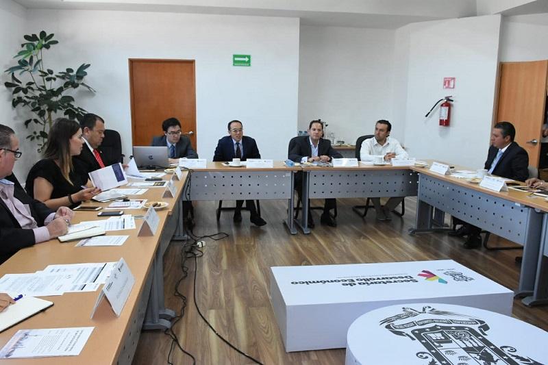 Jesús Melgoza Velázquez, titular de Sedeco, recalcó la gran oportunidad que representa para la economía del estado participar en este importante encuentro mundial