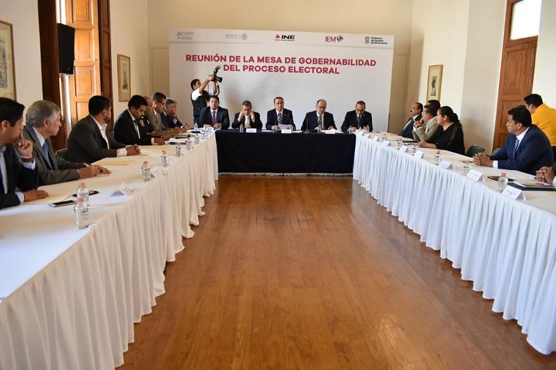 """""""Queremos una consulta que se lleve a cabo de manera libre y espontánea y con plena convivencia"""", declaró Hernández Reyes a nombre del Consejo General del IEM"""