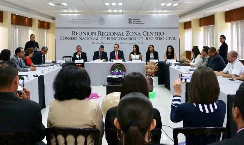 Sigala Páez se congratuló en su mensaje inaugural, de que el consejo de autoridades en materia de Registro Civil, hayan escogido la ciudad y el estado para llevar a cabo esta importante reunión