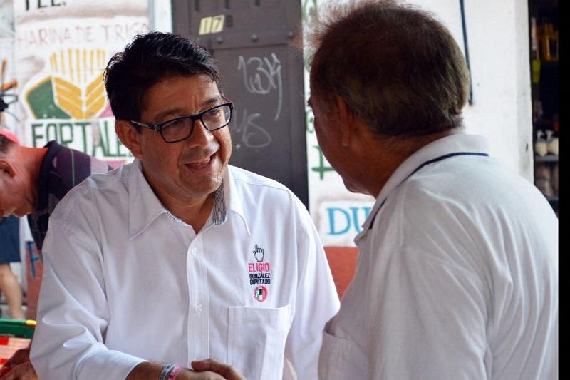 Eligio González buscará legislar en favor de los michoacanos, pero también dijo, gestionará recurso para que se ataquen los principales problemas que aquejan a los ciudadanos