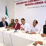 Aureoles Conejo encabezó reuniones con la Mesa de Seguridad y Justicia, así como con el Grupo de Coordinación para la Seguridad Local en Zamora