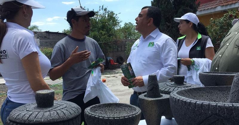 Constantino Ortiz aseguró que al llegar turismo a San Nicolás Obispo surgirá la necesidad de nuevos negocios