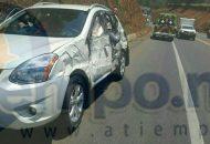 Por fortuna ninguno de los pasajeros de los automotores quedaron heridos, informaron los paramédicos de Rescate y Salvamento de Michoacán, quienes acudieron al lugar del accidente