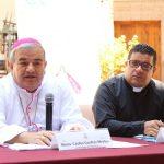"""En otro tema, Garfias Merlos hizo la presentación formal del Proyecto Global de Pastoral 2031-2033, """"Hacia el encuentro de Jesucristo Redentor, bajo la mirada amorosa de Santa María de Guadalupe"""""""