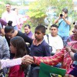 Yo no les voy a mentir, cada comunidad tiene sus necesidades prioritarias, todos tienen necesidades específicas y conforme tengamos la disposición del recurso, le vamos ir entrando: Daniela de los Santos