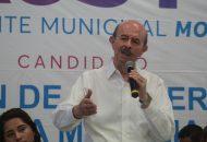 Vallejo Figueroa refirió que otro de sus compromisos es que, como en sus anteriores administraciones, el 70% del presupuesto municipal será destinado para atender las zonas rurales, tenencias y colonias populares del municipio