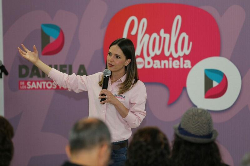 Daniela de los Santos reconoció que estas propuestas enriquecen su proyecto de trabajo, el cual ya cuenta con un eje sobre el tema y que además se basa en lo denunciado por ciudadanos de zonas rurales y urbanas de Morelia