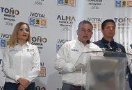 Para Carlos Quintana, es urgente que los candidatos firmen el acuerdo para comprometerse a coordinarse con la Federación y el Estado en materia de seguridad