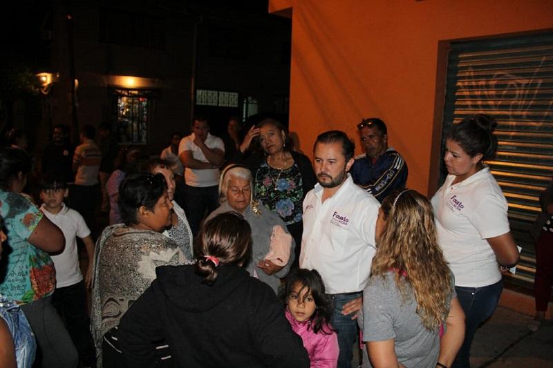 El candidato a Diputado Local por el Distrito X del Partido Encuentro Social se reúne con vecinos de la colonia Eduardo Ruiz