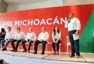 Color Gasca destacó el compromiso de los michoacanos que trabajan por un mejor porvenir para sus familias y que son un ejemplo del cambio por un Michoacán de progreso y con visión de futuro