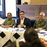Silvano Aureoles sostuvo en Pátzcuaro un encuentro con los medios de comunicación de la región; también supervisó la entrega de la reconstrucción del entronque carretero Pátzcuaro - Erongarícuaro – Ajuno