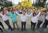 Toño García recalcó que otro deber de la ciudadanía es estar al pendiente del trabajo de sus gobernantes y representantes para exigir resultados y revisar las acciones realizadas, en un ejercicio de rendición de cuentas