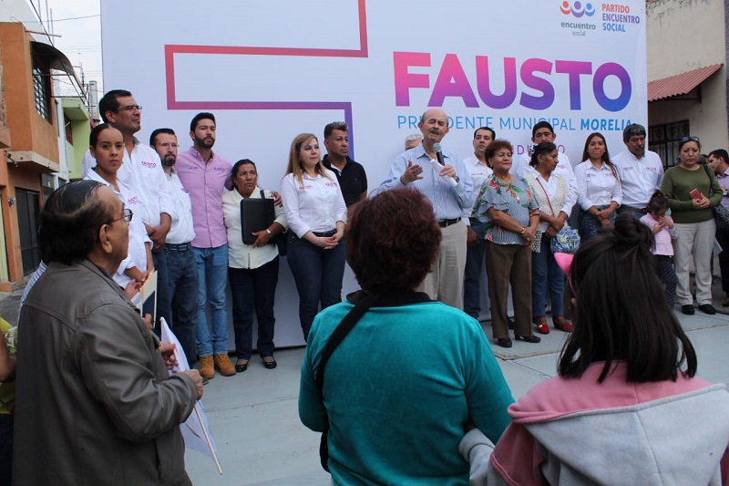 El Realito, Barrio Alto y la Industrial ofrecen su respaldo a Fausto Vallejo Figueroa