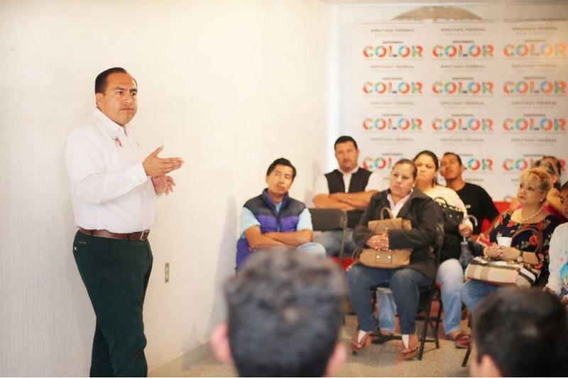 Color Gasca insistió en la necesidad de que tales demandas sean firmemente atendidas y darle a Morelia el color  del acceso pleno a los derechos sociales