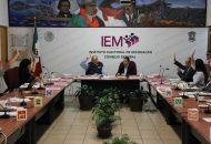 Hernández Reyes coincidió con las observaciones de los representantes de los partidos políticos en que es necesario que se modifique la propaganda electoral de los tres partidos que conformaban la coalición para confundir el electorado