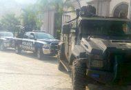El operativo de vigilancia se mantiene para brindar seguridad a los pobladores de Benito Juárez.