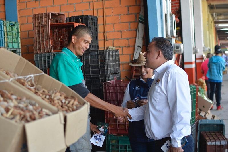 Escuchamos las historias que le duelen a los morelianos, la inseguridad no permite que haya mayor desarrollo económico: Carlos Quintana