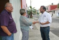 """""""Yo regresaré a verificar como van sus peticiones, no podemos permitir que dentro de la misma ciudad existan diferencias"""": Fausto Vallejo Mora"""