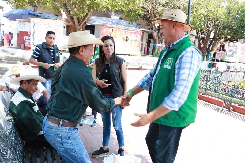 """Gerardo Herrera manifestó que lucharán """"por aquellos que menos tienen, para que a la brevedad posible tengan más"""""""