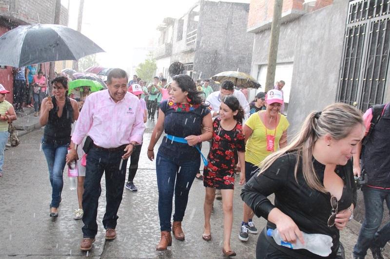Xóchitl Ruiz durante su participación destacó la imperiosa necesidad de continuar con las tareas de empoderamiento de las mujeres y los jóvenes