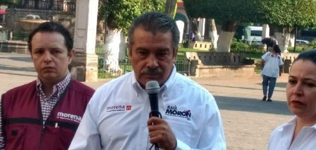 Vamos a terminar con privilegios y favoritismo: Raúl Morón